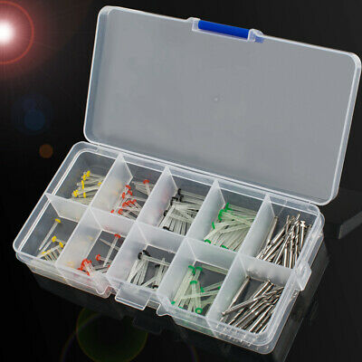 160pcs Dental Glass Fiber Post Single Refilled Package & Free For 32pcs Drill 3