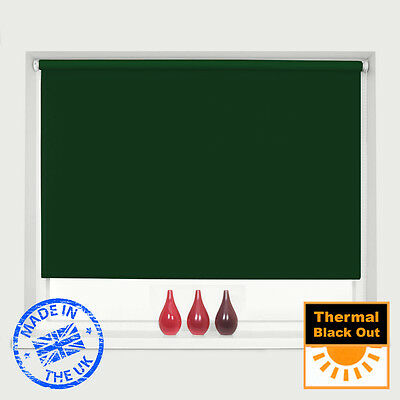 Mtm Made To Measure 100% Thermal Blackout Roller Blinds - Easy To Fit 7