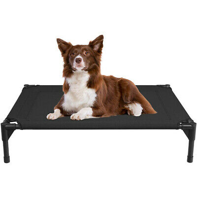 VEEHOO Elevated Dog Cat Bed Pet Cot Raised Lounger Hammock for Indoor & Outdoor 11
