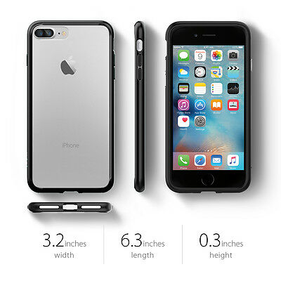 ... Spigen® For Apple iPhone 7 Plus [Ultra Hybrid] TPU Case Bumper Shockproof Cover