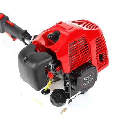 Benzin Motorbesen Kehrmaschine Schneeschieber Schneefräse 52CC Besen Schneefräse 2