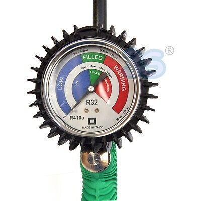 3S NUOVO SMART TESTER GAS R32 R410a TEST VERIFICA e RICARICA il CONDIZIONATORE 2