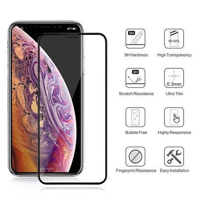 Iphone Xs Max X Xr Film Protection Ecran Protecteur Integral 3D Verre Trempe 3