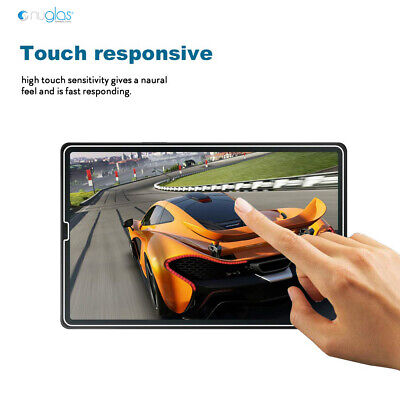 "Genuine Nuglas Tempered Glass Screen Protector Samsung Galaxy Tab S5e 10.5"" 5"