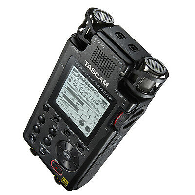 Tascam DR-100 MKIII MK3 2-Ch Portable Linear PCM Handheld Stereo Audio Recorder 3