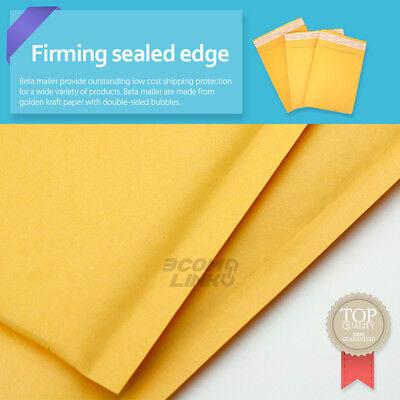 4x7 (4x6) inch Kraft Self Seal Bubble Mailer Padded Envelope #0000 25,50,100,500 3