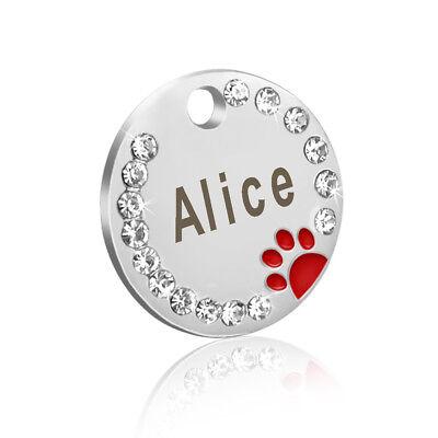 HUNDEMARKEN Tiermarke Hundemarke mit GRAVUR Katzenmarke Edelstahl Personalisiert