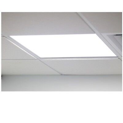 LED Recessed Ceiling Flat Panel Emergency 600 x 600 36W Natural Light 4000k 3