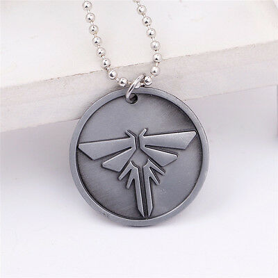 The Last of Us Left Behind Metal Charms Chain Pendant Necklace Cosplay Gift New 5