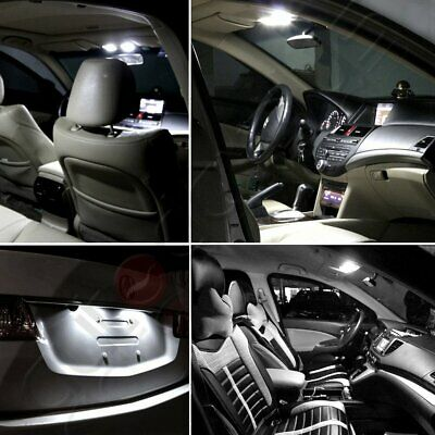 12 x Super Bright White Interior LED Lights Package For 2010-2019 Chevy Cruze