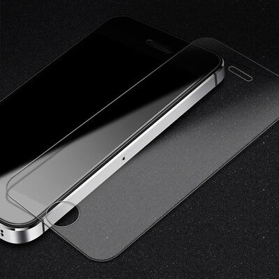 2x Scratch Resist Tempered Glass Screen Protector Film for Apple iPhone 5S 5C SE 8