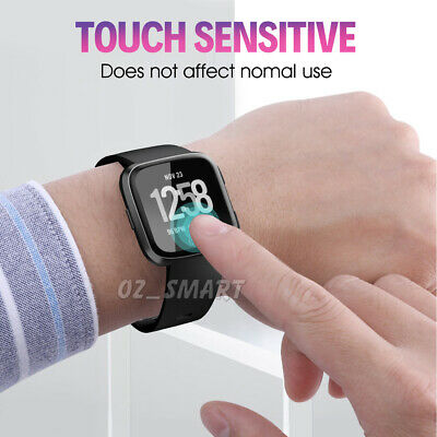 1x/2x/3x/4x Fitbit Versa Lite Screen Protector 9H Tempered Full Coverage Glass 8
