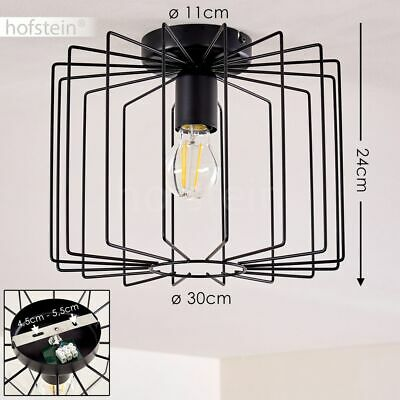 Decken Lampe Flur Leuchte kupferfarben Wohn Schlaf Raum Beleuchtung Licht Effekt