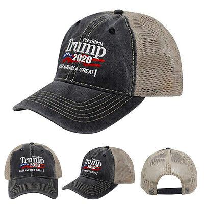 Donald Trump Republican 2020 Cap Adjustable Summer Hat Keep Make America Great 2
