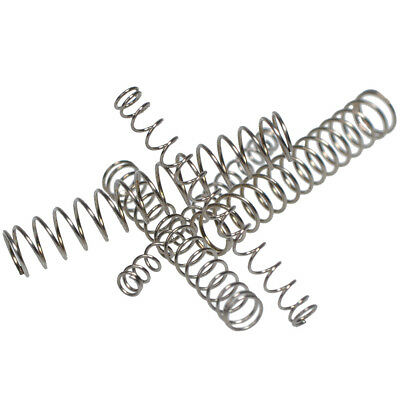 1mm Wire Diameter Compression Spring 304 Stainless Steel Small Spring Pressure 4