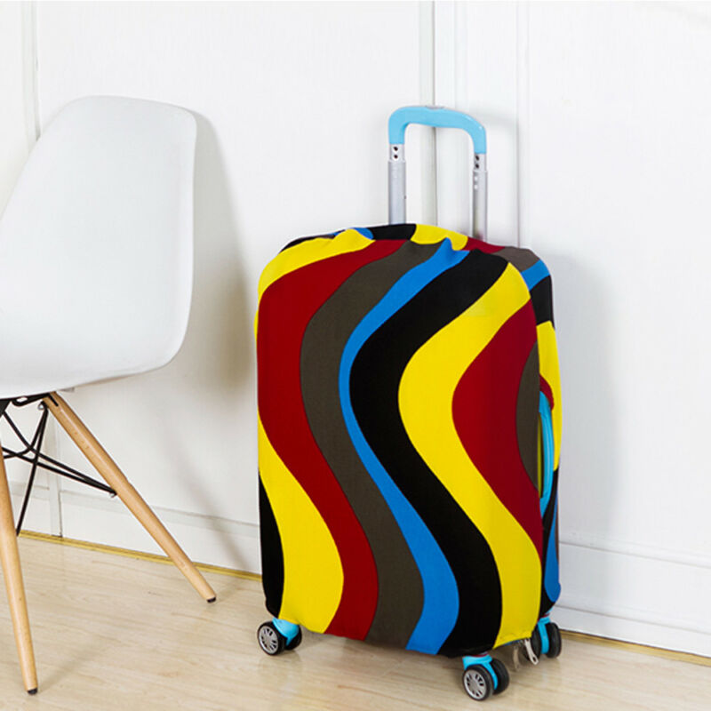 18-28''Elastic Luggage Suitcase Cover Dustproof Protector Protective Bag 2