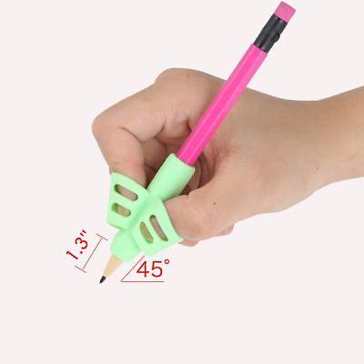 3 pcs/Lot Children Pencil Holder Pen Writing Aid Grip Posture Correction Tools 4
