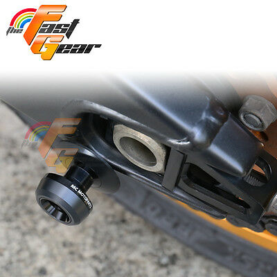 Twall Protector Black Swingarm Spools Sliders Fit Kawasaki ZX9R 1998-2003