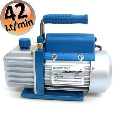 3S Kit Carica E Vuoto Pompa 42 Lt Ricariche Climatizzatore R32 R410A R407C R134A 5