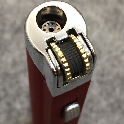 AOMAI Jet Torch Lockable Flame flint wheel ignition Cigar Cigarette Lighter Red 5