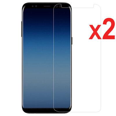 2X Tempered Glass Screen Protector For Samsung Galaxy J3 J5 J7 Pro J4 J6 J8 2018 2