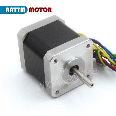 【EU Stock】10Pcs Nema17 Stepper Motor 78oz-in 48mm for Mill CNC Router/3D Printer 6