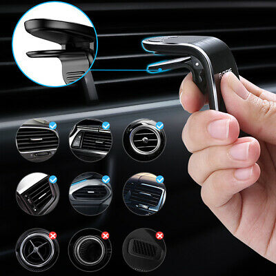 Phone Holder Clip Car Air Vent Magnetic Bracket for Mobile Phone GPS Accessories 5