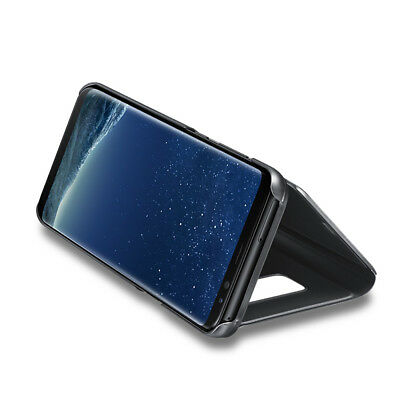 Slim Cover Luxury Flip Stand Case for Samsung Galaxy S10 S9 S8 Plus S7 Note 9 8 4