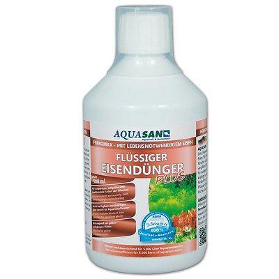 (23,96€/l) AQUASAN FerroMax Flüssiger Eisendünger Pflanzendünger für´s Aquarium 3