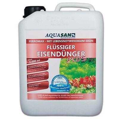 (23,96€/l) AQUASAN FerroMax Flüssiger Eisendünger Pflanzendünger für´s Aquarium 5
