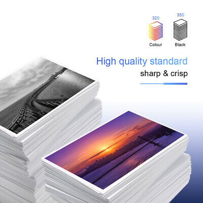 New Chip 63XL Black & Color Ink Cartridge For HP Officejet 5255 5258 6