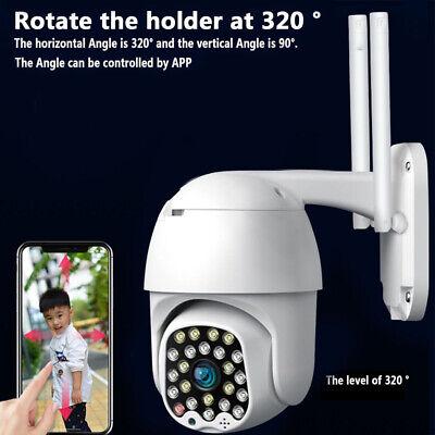 NEW 1080P HD IP CCTV Camera Waterproof Outdoor WiFi PTZ Security Wireless IR Cam 4