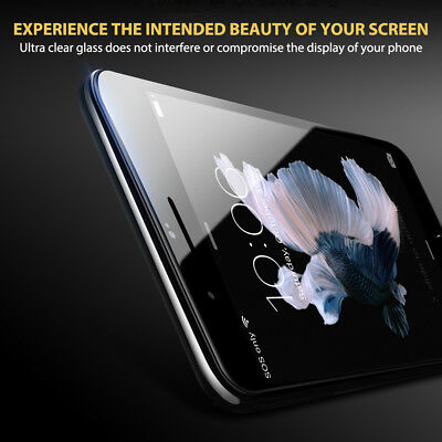 For Apple iPhone 7 8 Plus - 6D Full Cover Curved Tempered Glass Screen Protector 3