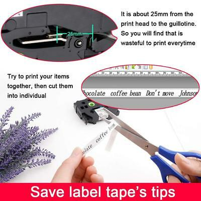 12mm White on Black Compatible with Brother TZ TZe-335 P-Touch Label Tape 2PK 9