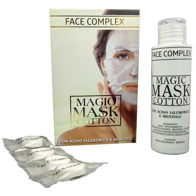 Maschera Viso Magic Mask Cotton Face Complex Con Acido Ialuronico E Mentolo 2
