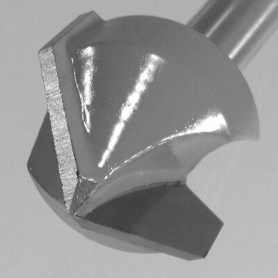V-Nutfräser Ø 25,4 x 8 mm Winkel 90°