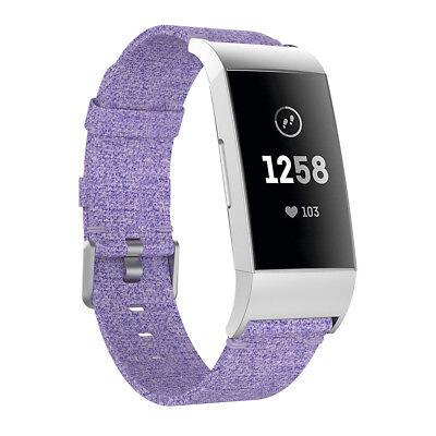 Fitbit Charge 2 3 Armband Edelstahl Ersatzband Nylon Milanese Sport Leder Watch 8