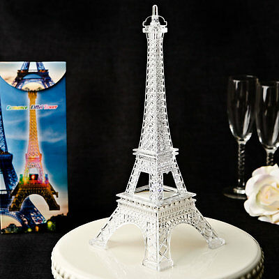 SET OF 12 Light Up LED Eiffel Tower Wedding Table Centerpieces ...