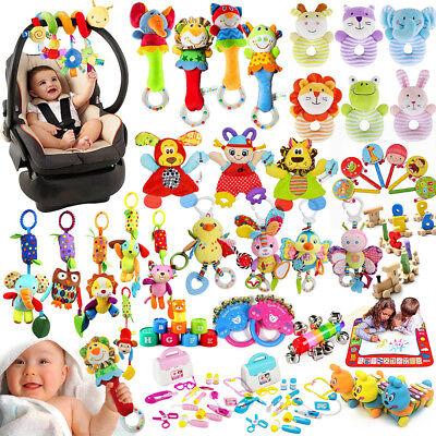 Bebé animal Campanas Sonajeros Cama cochecito de juguete de desarrollo Campanas 2