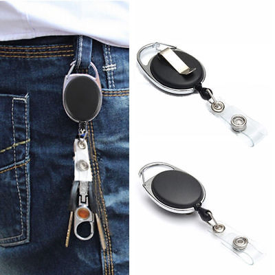 Retractable Lanyard ID, Card Holder, Business Badges, Security Pass EOFY 3