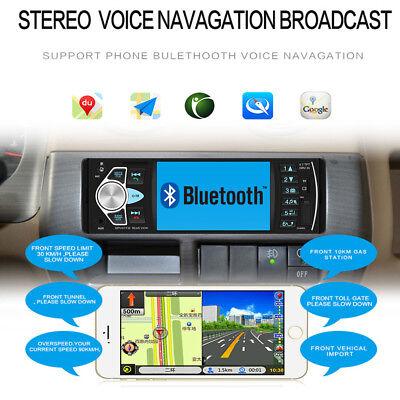 1Din Autoradio Mit Bildschirm Display Video Monitor Bluetooth Freisprech Usb Sd 4