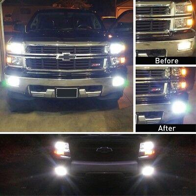 2Pcs H1-6 100W 1000LM Car LED headlight Kits Fog light White New 6000K//8000 Q3Z2