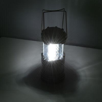 2pcs Portable 30 LED Outdoor Camping Lantern Bivouac Hiking Fishing Light Lamp 4
