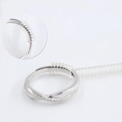 Ring Size Adjuster Reducer Spiral Invisible Snugs Guard Resizer Jewellery Tool 6