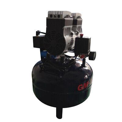 Dental Noiseless Oil-Free Oilless Air Compressor 32L Gas tank 850W AC220V DHL 5