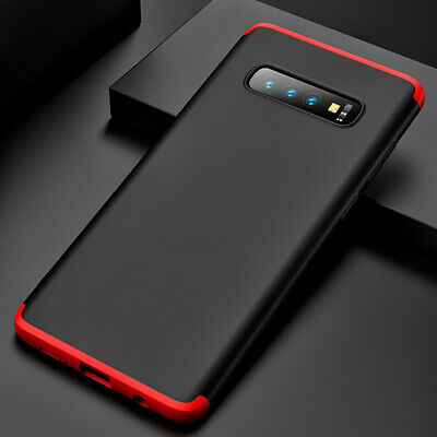 Thin Shockproof Slim Case + Screen Protector For Samsung Galaxy S10/S9/S8 Plus 4