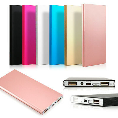 Ultra Thin 20000mAh Portable External Battery Charger Power Bank for Cell Phone 2