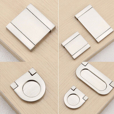 Kitchen Cabinet Invisible Flat Handle Pull Door Cupboard Drawer Handles 1pc 2