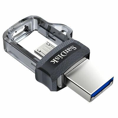 SanDisk ULTRA DUAL USB m3.0 16GB 32GB 64GB 128GB USB OTG Flash Memory Pen Drive 2