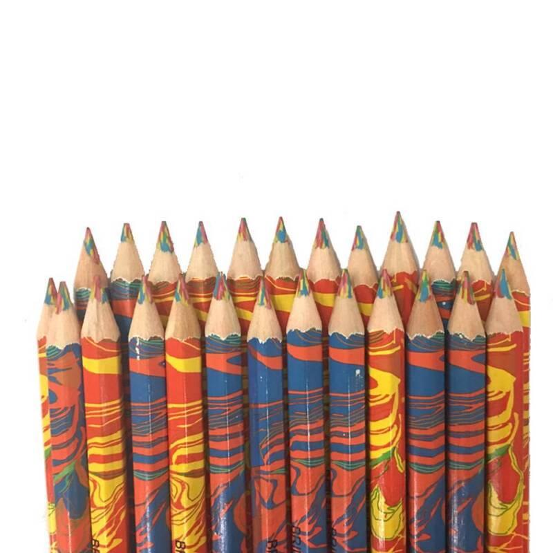 Mixed Colors Rainbow Pencil Art Drawing Colored Pencils Children Graffiti - 4